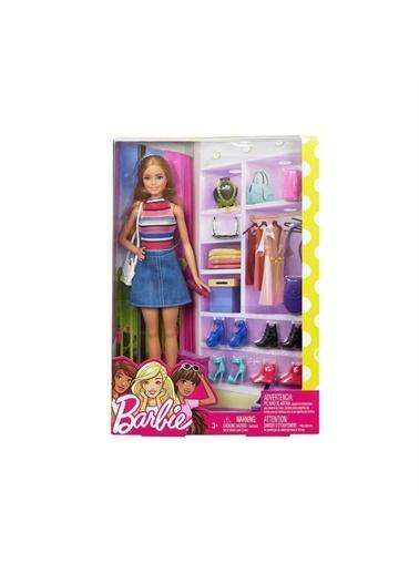 Barbie Barbie Fvj42  Kız Çocuk Barbie Ve Muhteşem Aksesuarları Renkli